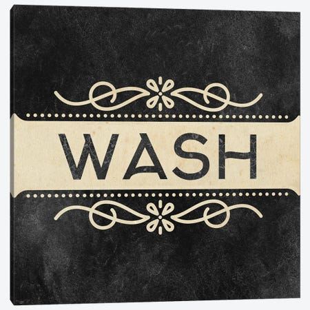 Wash Dry Fold I Canvas Print #KAL656} by Kimberly Allen Canvas Wall Art