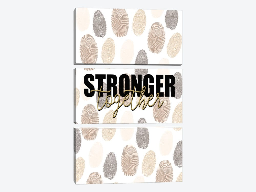 Stronger by Kimberly Allen 3-piece Canvas Print