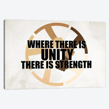 There Is Strength Canvas Print #KAL667} by Kimberly Allen Canvas Print