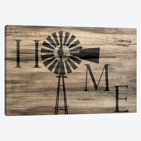 Windmill Home Canvas Print #KAL66} by Kimberly Allen Canvas Artwork