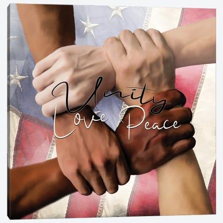 Unity I Canvas Print #KAL673} by Kimberly Allen Art Print