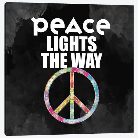 Peace Lights Canvas Print #KAL674} by Kimberly Allen Canvas Artwork