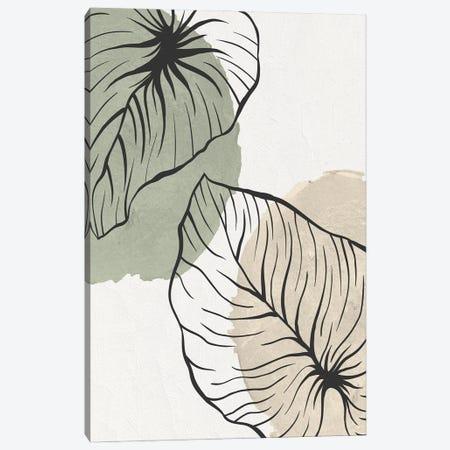 Palm Organics I Canvas Print #KAL701} by Kimberly Allen Canvas Art Print