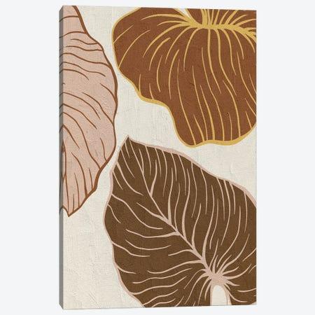 Warm Palms I Canvas Print #KAL722} by Kimberly Allen Canvas Print