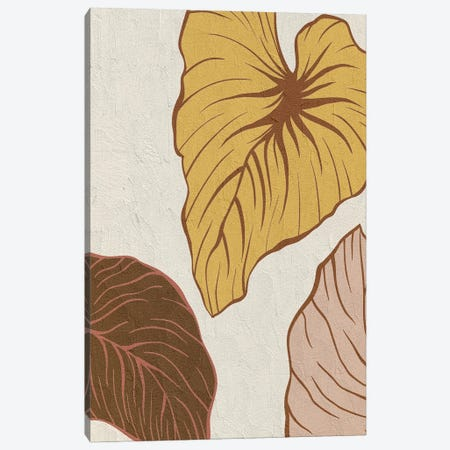 Warm Palms II Canvas Print #KAL723} by Kimberly Allen Canvas Print