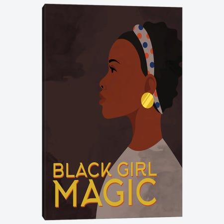 Black Girl Magic Canvas Print #KAL757} by Kimberly Allen Canvas Print