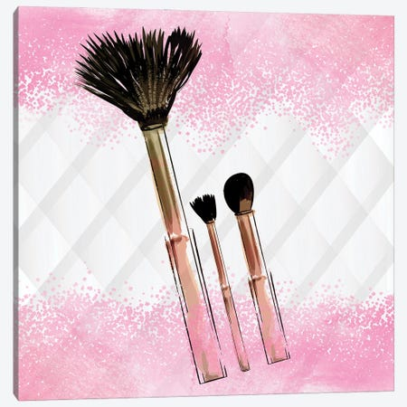 Brushes I Canvas Print #KAL759} by Kimberly Allen Canvas Art