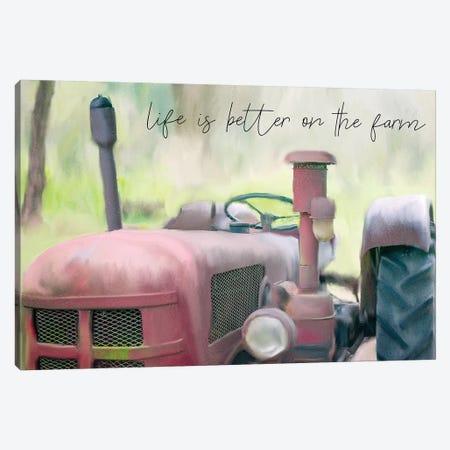 Better On The Farm II Canvas Print #KAL78} by Kimberly Allen Canvas Wall Art