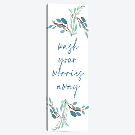 French Blue V Canvas Print #KAL795} by Kimberly Allen Art Print