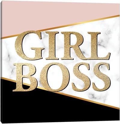 Girl Boss I Canvas Art Print