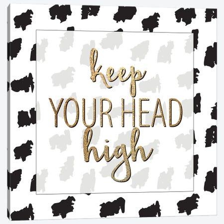 Head High Canvas Print #KAL801} by Kimberly Allen Canvas Art