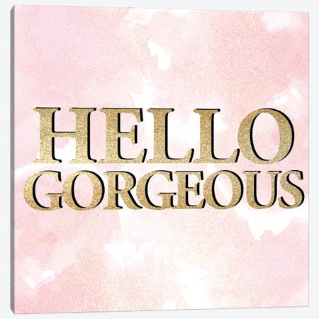 Hello II V2 Canvas Print #KAL804} by Kimberly Allen Canvas Print