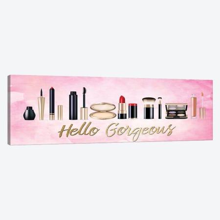 Hello Gorgeous Makeup V2 Canvas Print #KAL806} by Kimberly Allen Canvas Art Print