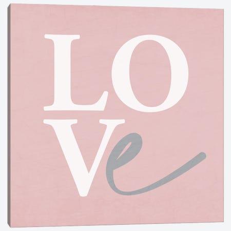 Love Canvas Print #KAL838} by Kimberly Allen Art Print