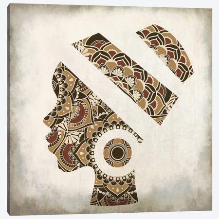 Mandala Silhouette Canvas Print #KAL850} by Kimberly Allen Canvas Print