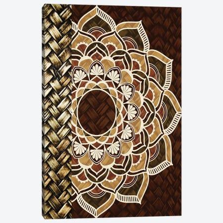 Mandala Weave I Canvas Print #KAL851} by Kimberly Allen Art Print