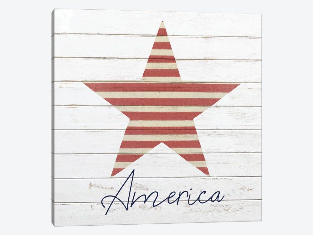 God Bless America III by Kimberly Allen 1-piece Canvas Artwork