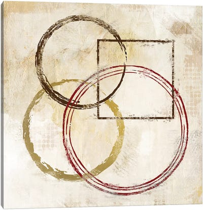 Circles And Squares II Canvas Art Print