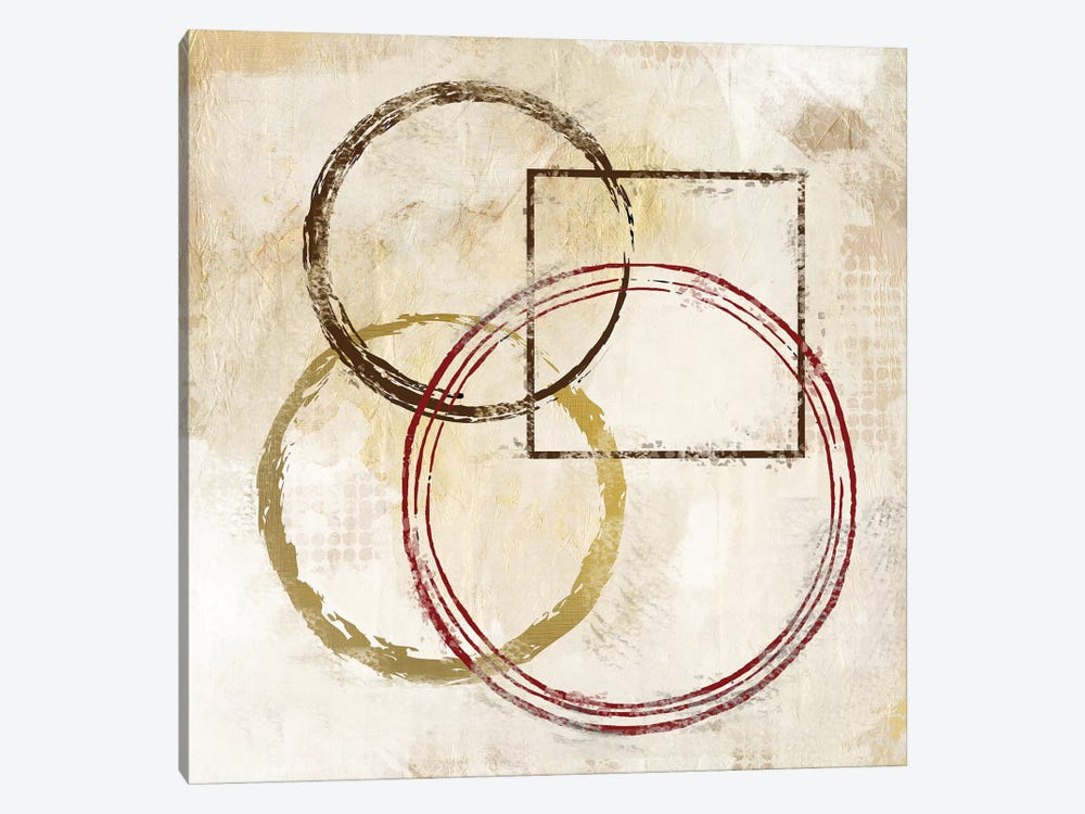 Circles And Squares II by Kimberly Allen 1-piece Art Print