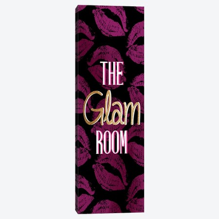 The Glam Room Canvas Print #KAL936} by Kimberly Allen Art Print