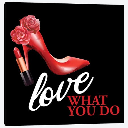 What you Love III Canvas Print #KAL957} by Kimberly Allen Art Print