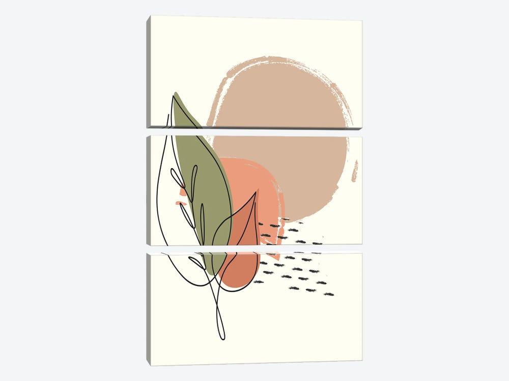 Elements II by Kimberly Allen 3-piece Canvas Art Print