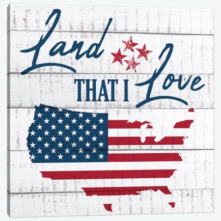 Land That I Love II Canvas Print #KAL96} by Kimberly Allen Art Print