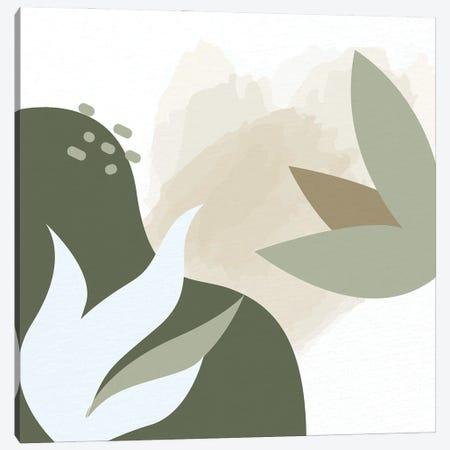 Organic Greens I Canvas Print #KAL977} by Kimberly Allen Art Print