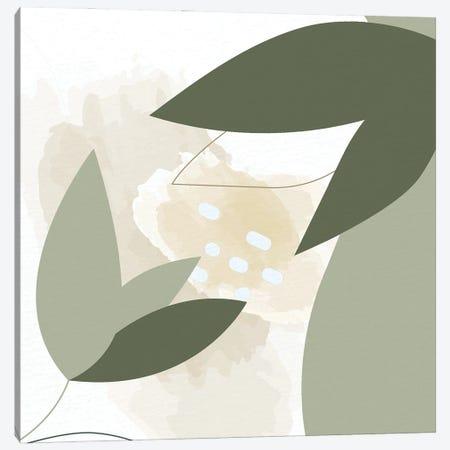 Organic Greens II Canvas Print #KAL978} by Kimberly Allen Canvas Wall Art