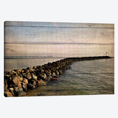 Rock Path Canvas Print #KAL9} by Kimberly Allen Canvas Art Print