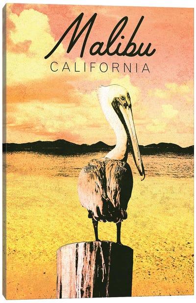 Malibu, California Canvas Art Print