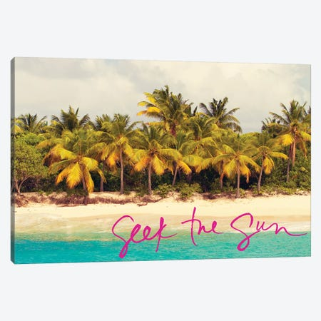 Seek the Sun 3-Piece Canvas #KAM15} by Kathy Mansfield Canvas Art