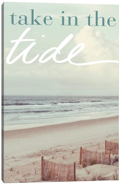 Take in the Tide Canvas Art Print