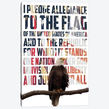 Pledge Allegiance Canvas Print #KAM19} by Kathy Mansfield Art Print