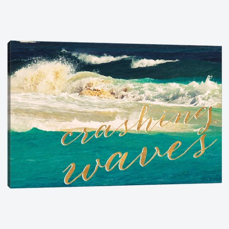 High Waves II Canvas Print #KAM7} by Kathy Mansfield Art Print