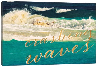 High Waves II Canvas Art Print