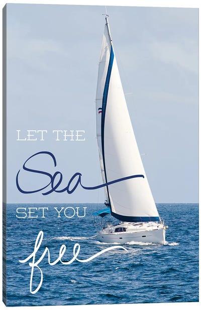 Let The Sea Canvas Art Print