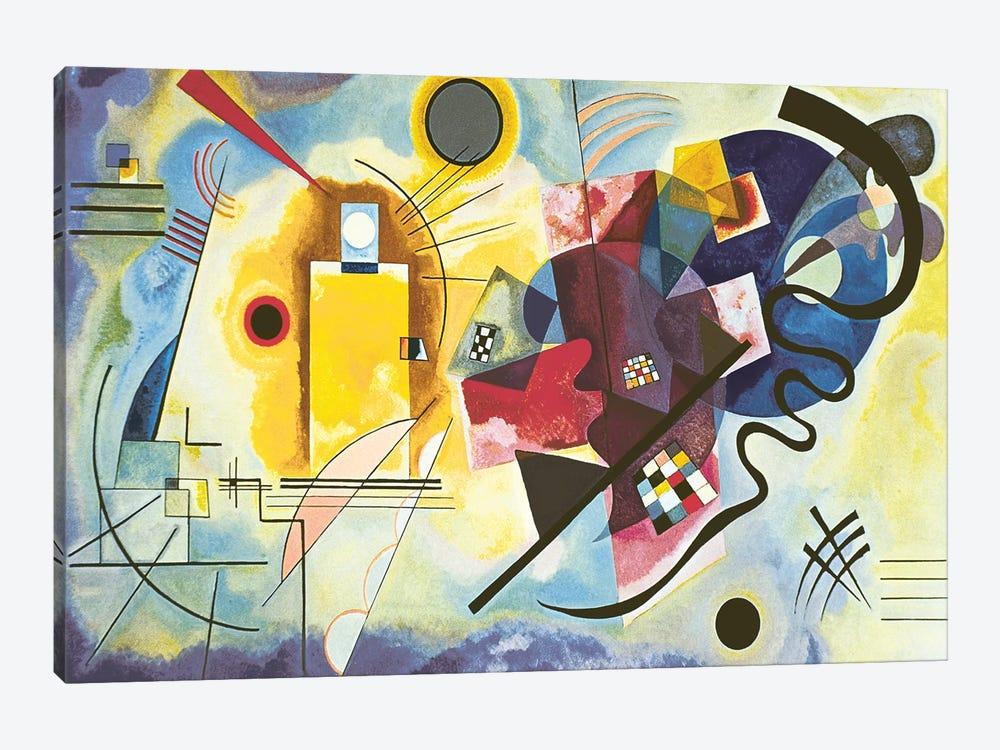 Gelb Rot Blau Yellow Red Blue 1925 Wassily Kandinsky Icanvas
