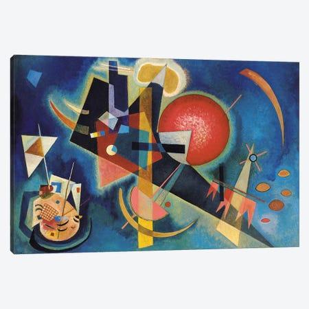 Im Blau Canvas Print #KAN2} by Wassily Kandinsky Canvas Print