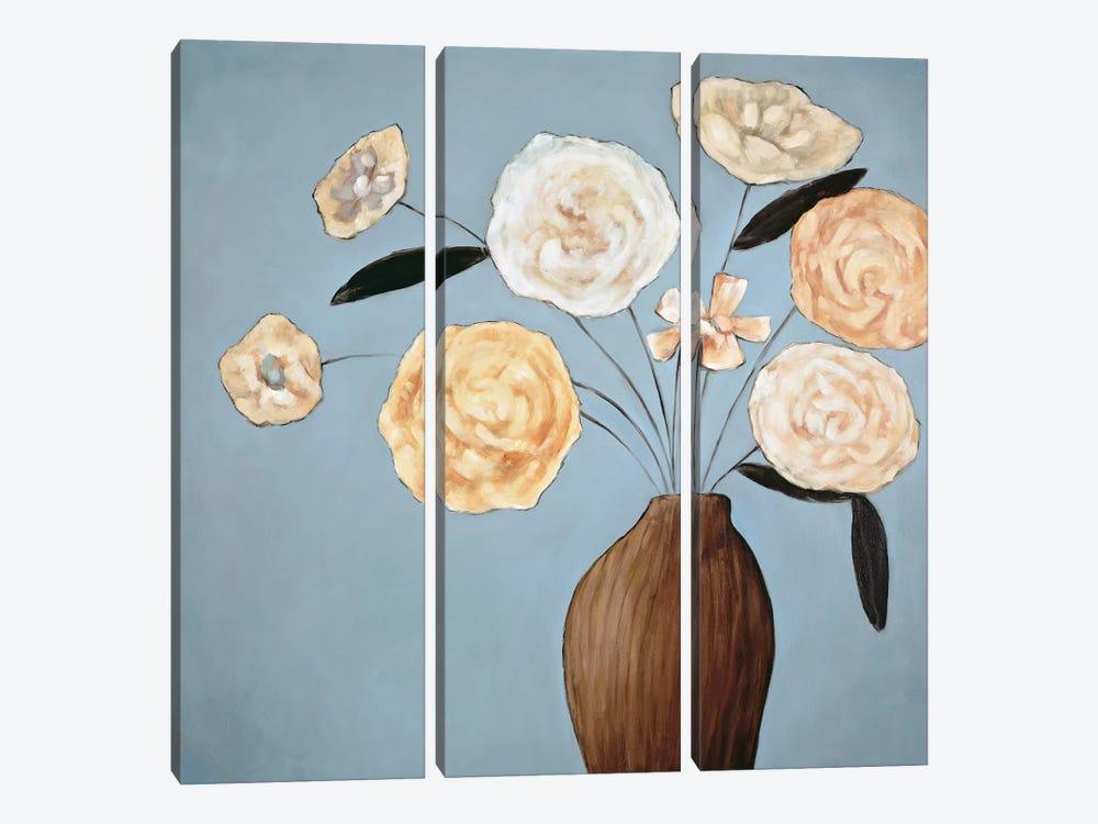 Flourish II by Katy Olsen 3-piece Canvas Wall Art