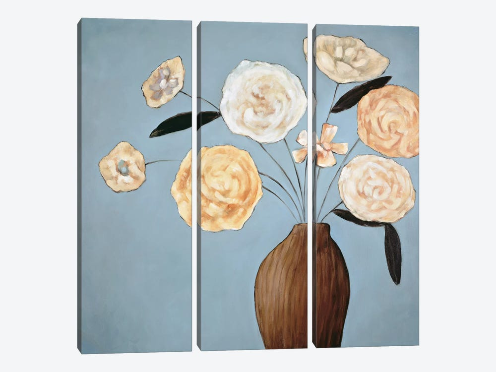 Flourish II by Katy Olsen 3-piece Canvas Wall Art