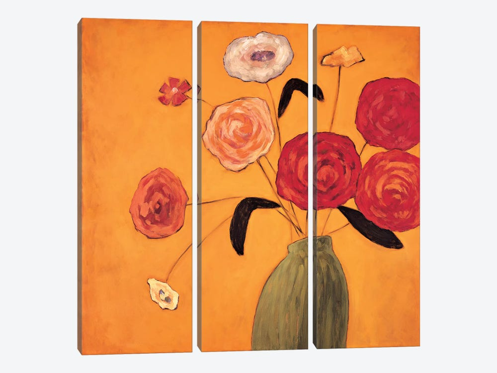 Mojo I by Katy Olsen 3-piece Canvas Print