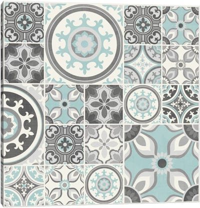 Suzanni Tile I Canvas Art Print