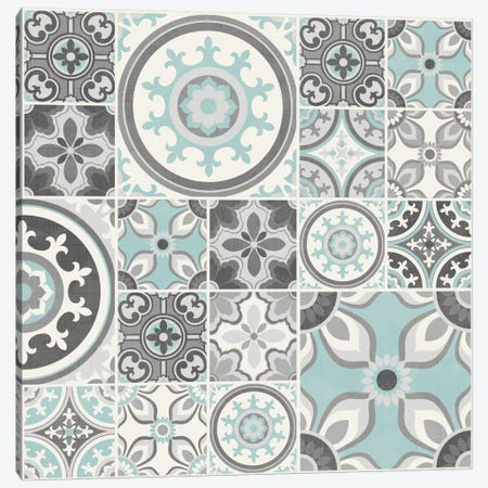 Suzanni Tile I Canvas Print #KAP12} by Diane Kappa Canvas Artwork