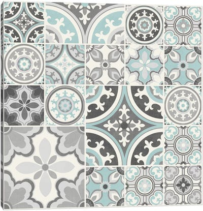 Suzanni Tile II Canvas Art Print