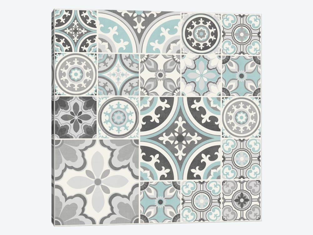 Suzanni Tile II by Diane Kappa 1-piece Canvas Print