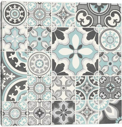 Suzanni Tile III Canvas Art Print