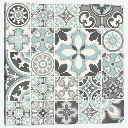 Suzanni Tile III Canvas Print #KAP14} by Diane Kappa Canvas Art Print