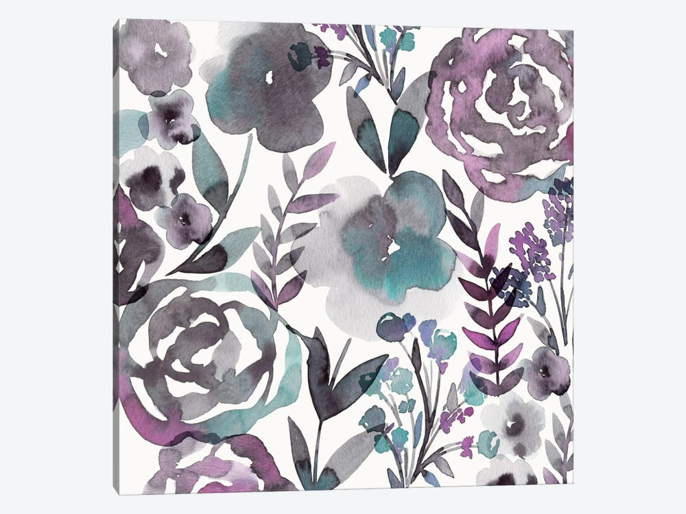 Blooming Plum Garden I by Diane Kappa 1-piece Canvas Wall Art