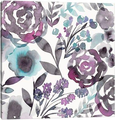 Blooming Plum Garden II Canvas Art Print